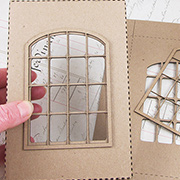 Shadowbox Lid - Double Pane Window