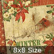 Winter Wonderland 8x8 Paper Pad