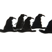 Black Witch Hat Brads*