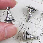Pewter Wizard Hat Charm*