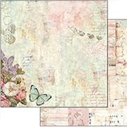Wonderland Flowers & Butterflies Scrapbook Paper