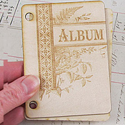 Wooden Album Covers