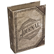Tim Holtz Journal Worn Book Cover
