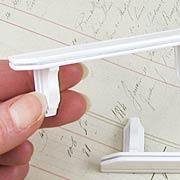 Miniature White Wooden Shelf