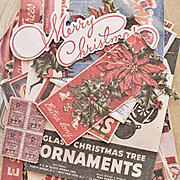 Tim Holtz Ephemera Pack - Christmas