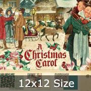 Christmas Carol 12x12 Paper Pad