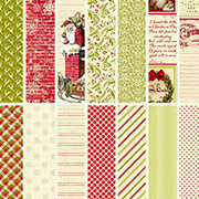 Classic Christmas 6x6 Paper Pad