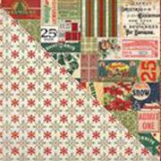 Tim Holtz Christmas Tidings 8x8 Paper Stash