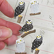 Tiny Owl Stickers