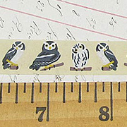 15mm Owl Paper Tape
