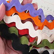 1 Inch Ric Rac Ribbons
